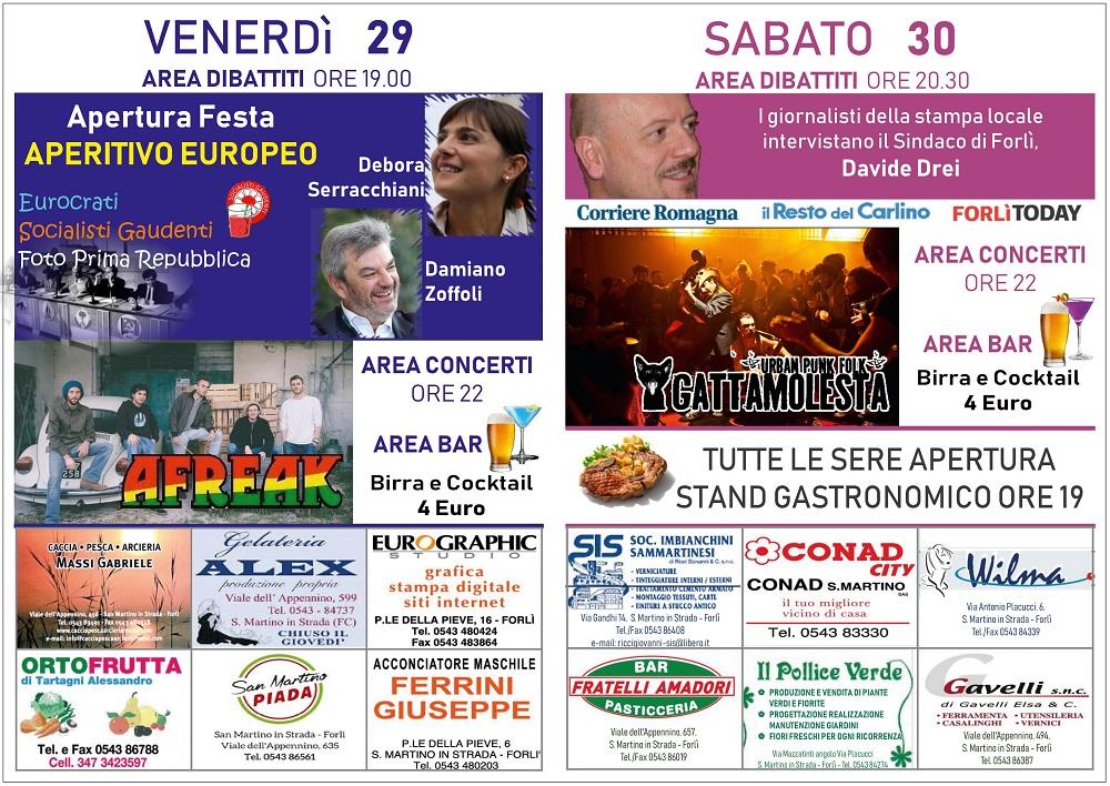 Festa democratica S. Martino in Strada @ Parcheggio Palestra Marabini | Forlì | Emilia-Romagna | Italia