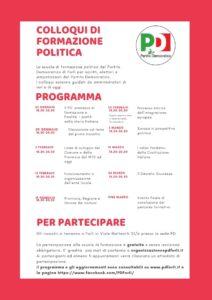 Coloqui di formazione politica @ Sala Circolo Karl Marx