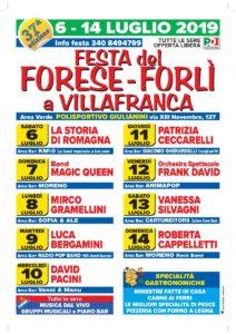 Festa del Forese a Villafranca @ Polisportivo Giulianini