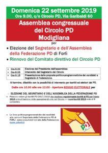 Assemblea congressuale del Circolo PD Modigliana @ Circolo PD