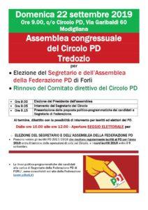 Assemblea congressuale del Circolo PD Tredozio @ Circolo PD Modigliana