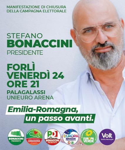 Chiusura della campagna elettorale di Stefano Bonaccini