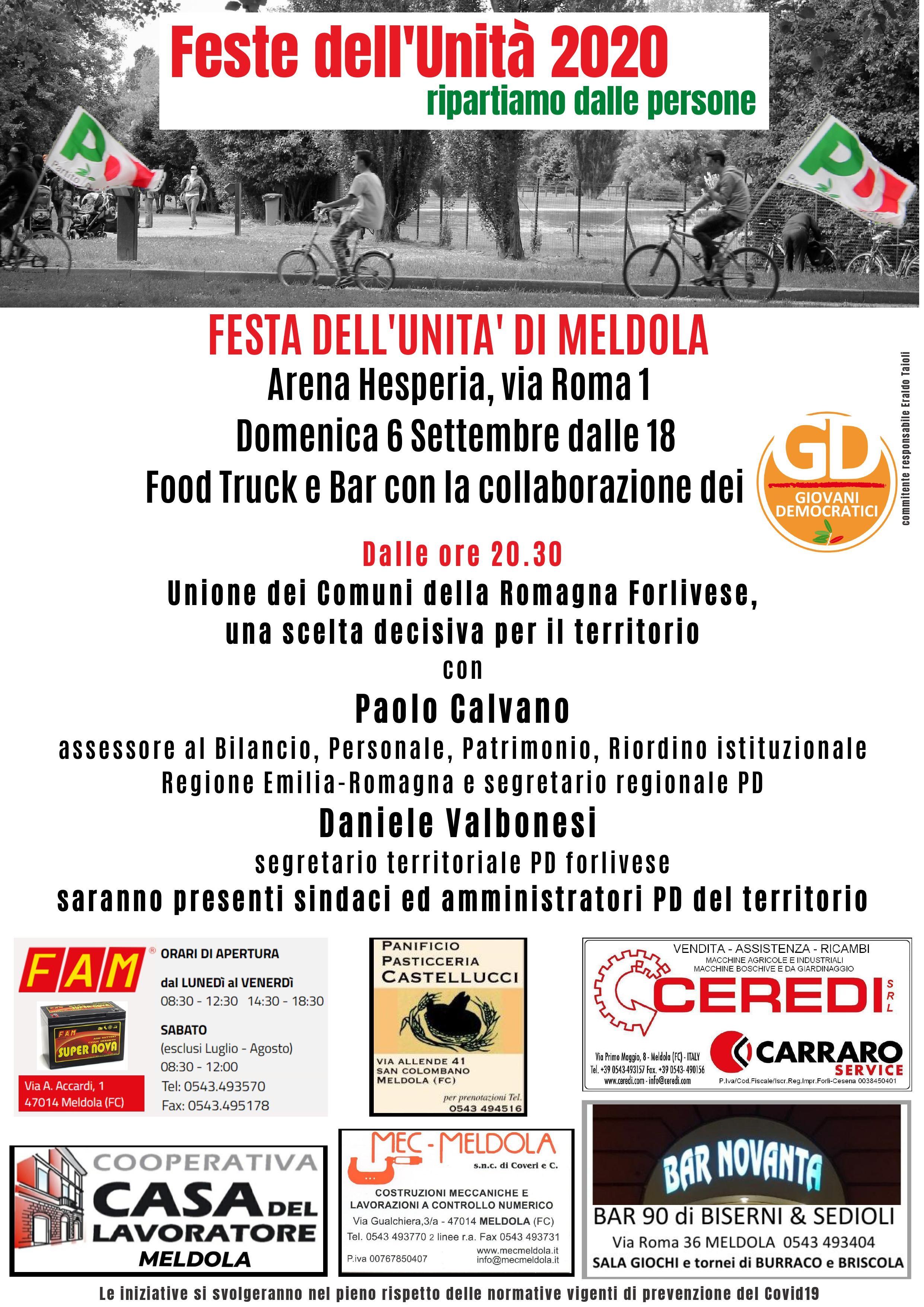Festa dell'Unità di Meldola @ Arena Hesperia